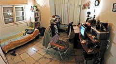 Pseudo Equirectangular Projected Room (jaunis) Tags: homemade habitacin cuarto pieza errores casero equirectangular reposera jaunis