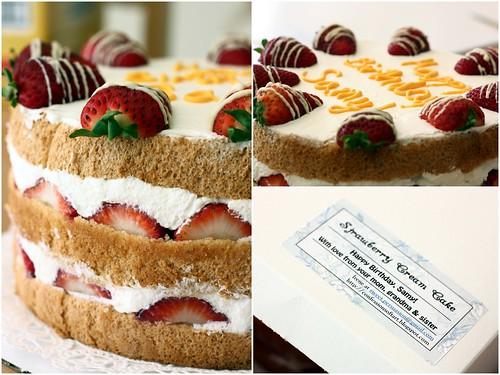 Starwberry Cream Cake
