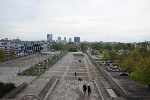 エストニアの首都、タリン到着!