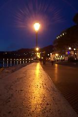 tramonto a Lerici (vime3) Tags: mare lampioni notturno lerici