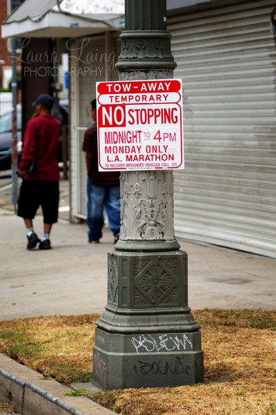 LA Marathon: No Stopping