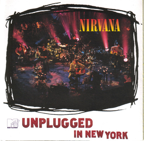 Capa Album Nirvana Unplugged In New York