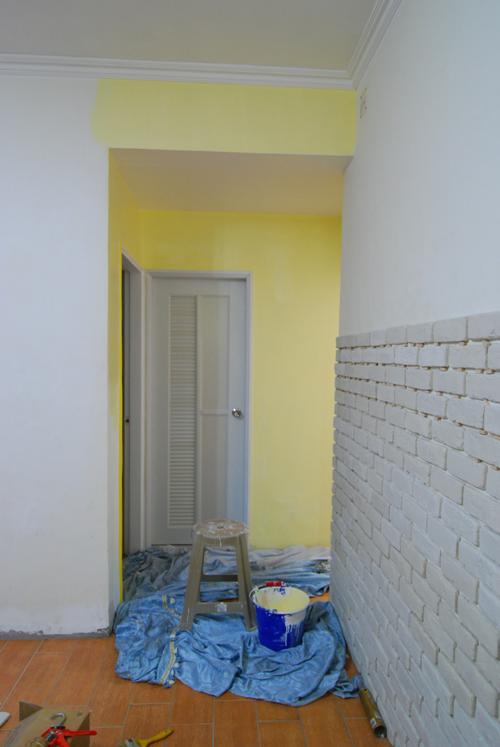 客廳-上漆
