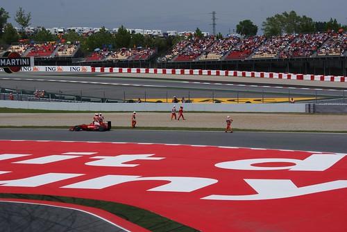 GP España 2009: Kimi Raikkonen