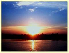 Sonnenuntergang in Assuan