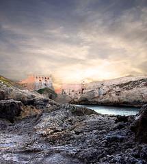 Alcazaba ( no HDR) (king David Israel) Tags: color colour canon landscape atardecer nikon colours fortaleza fotografia melilla photograf murallas paisae melillalavieja