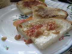 Hungarian Bone Marrow Toast