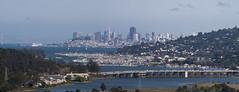 San Francisco View from Marin County - Panorama (Richard J M) Tags: sanfrancisco california marincounty sanfranciscobay