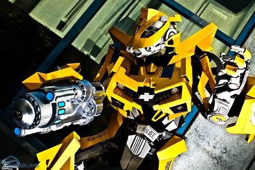 Cosplay de Bumblebee