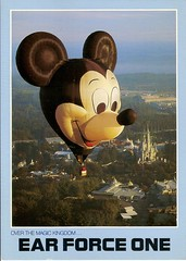 Disney Postcards (coconut wireless) Tags: world club vintage mouse one tv epcot florida earth postcard magic illuminations kingdom disney spaceship fl wdw walt meandering sse earforce meanderingmouse mmctv