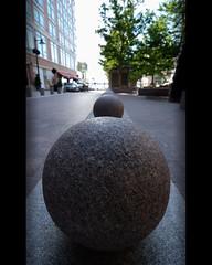 Marbles (Tim Serge) Tags: street bus evening washingtondc nikon gimp balls explore stop walkway stonesculpture marbles pavers explored nikond80 nationalharbor tokina1116mmf28 atx116prodx capturenx2 nprsummer