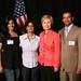 Khalid Mahmood and Hillary Clinton