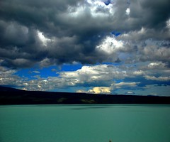 Less is more (unlimited inspirations) Tags: newzealand lake nz water ocean lakepukaki nature sky clouds mountains sunlights sun lights shadows silence environment blues blue white green dark silhouette landscape plants trees colours colourful best angle unforgettable travel world painting art love fun amazing scenery paradise attractions famous landmark platinumheartaward tripleniceshot doublyniceshot