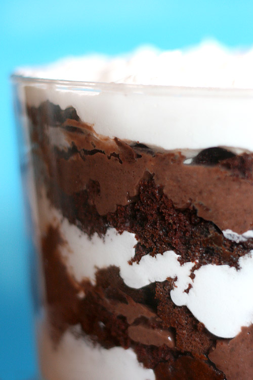 Triple Chocolate Trifle Bakerella Com