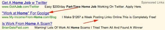 google scams