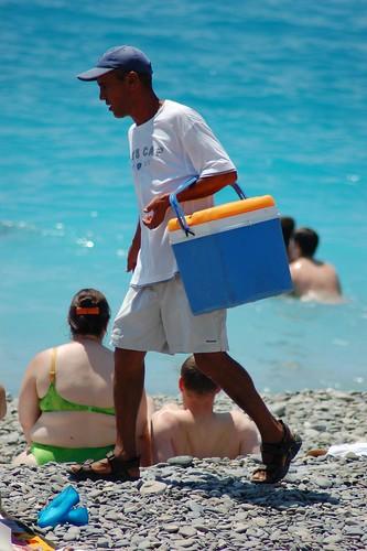 Nice Beach, Cote d'Azur 蔚藍海岸 尼斯海灘