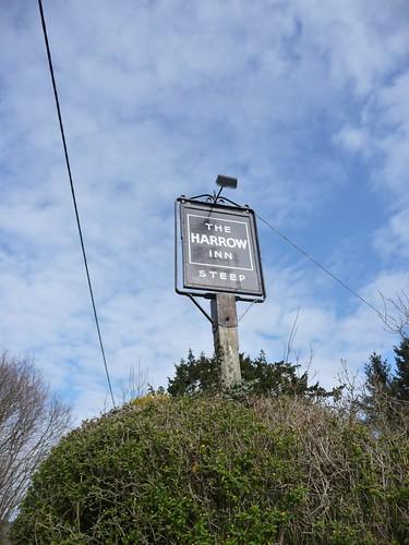 small-harrow-inn-sign