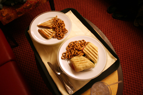 Carnival Splendor Room Service - Double Sandwiches