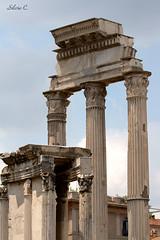 Colonne fori imperiali (Silvio Castellani) Tags: roma monumento foriimperiali colonne rovine storia archeologia imperoromano silviocastellani
