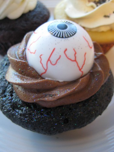 Halloween cupcakes - Moldy Chocolate
