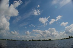 Waterland (David Feltkamp) Tags: clouds boat lakes waterland broekinwaterland zuiderwoude