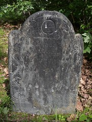 Mill Hill Cemetery Norwalk CT (caboose_rodeo) Tags: 7156 sethbenedictoct131764age39years4mos newportristone