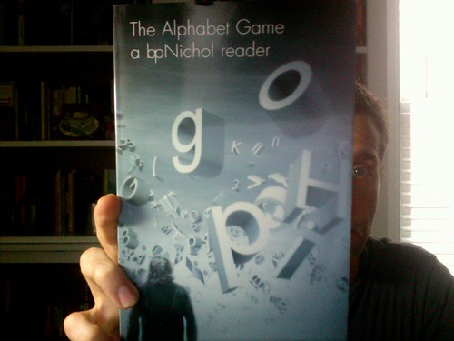 The Alphabet Game: a bpNichol reader by Michael_Kelleher