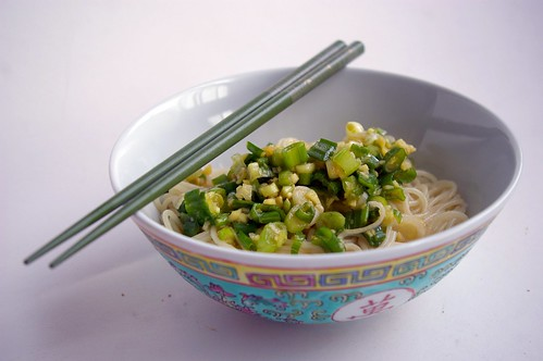 Ginger-Scallion Noodles II