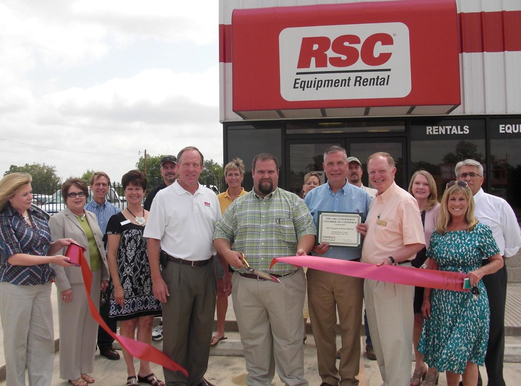 RSC Equipment Rental of Boerne Ribbon Cutting