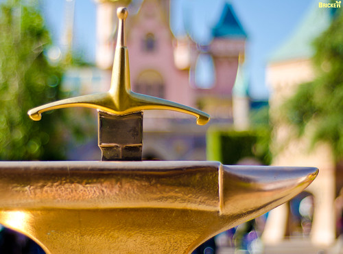 Disneyland's Sword in the Stone