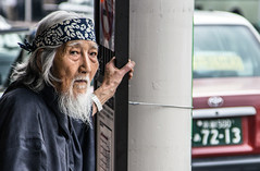 Ojisan (J.Salmoral) Tags: vacation portrait japan kyoto retrato avi  nippon portret japon giappone nihon jap  abuelo  retrat portrt portrtt  ojisan arckp canonef24105f4lisusm