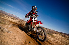 Honda Berm (Digital Giant) Tags: red corner honda stars interestingness nikon flickr desert d70 troy bluesky explore alpine lee fox designs berm napster cls nofear crf alpinestars 250r amsoil