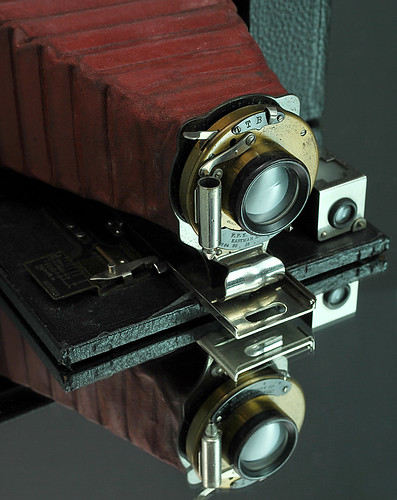 Antique camera, detail