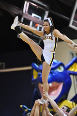 DSC_0050 (MNJSports) Tags: basketball dance slam jump shot spirit dragons tricks loyola acrobatics cheer cheerleader ncaa excitement espn dunk dak stunts greyhounds drexel layup division1 drexeldragons bracketbuster drexelspirit dakpack