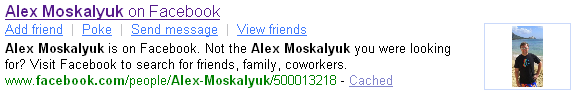 Facebook Enhanced Result - Alex Moskalyuk