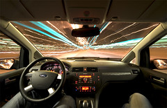 OMFG, no hand driving!!! (Euro style) Tags: auto street longexposure trip car wheel night speed lights dangerous nikon driving traffic ne gas moto nikkor d3 taip eurostyle proudshopper 142428 taip2 taip7 taip10 taip3 taip4 taip6 taip8 taip9 fotofiltroauksas