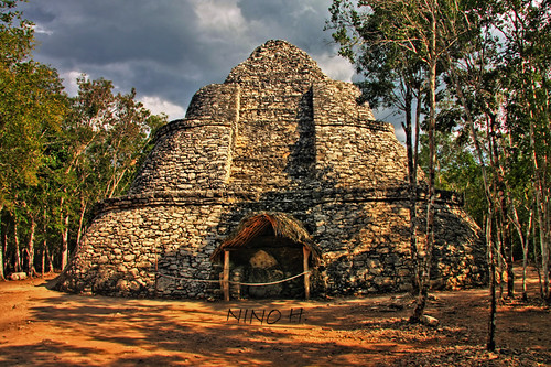 Crossroads Temple - Cobá