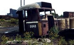 Class 31 5648 Doncaster 17/6/78 (Stapleton Road) Tags: cab locomotive britishrail class31 doncasterworks 31222 railwayphotography