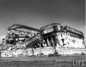 Ruins of Legislative Building