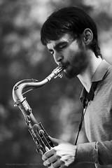 JazzTerrassa Festival - AFINKE (Alberello) Tags: portrait bw festival canon jazz sigma sax quartet tenor terrassa 180mm alberello saxofonista saxotenor jazzterrassa afinke santidelarubia pasqualespagnuolo alberellophotography wwwjazzterrassaorg