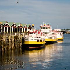 Ferry Terminal (al1d8gun) Tags: reflection ferry portland boats dock nikon unitedstates maine july terminal 2008 d300 awesomeshot 5photosaday omot afsvrzoomnikkor24120mmf3556gifed 5halloffame