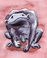 Pataficouleure (Thibaud Schoen) Tags: aquarelle monstre créature patafi