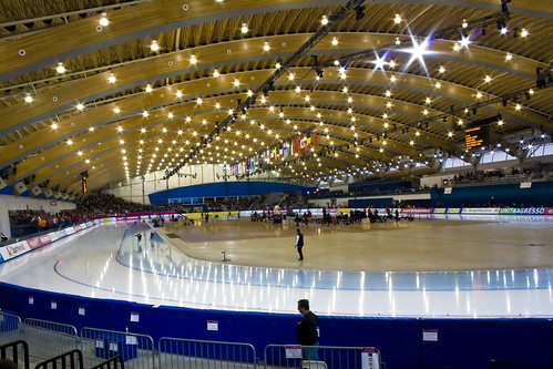 Image of the Richmond Olympic Oval Courtesy of adrian8_8.  Click on the image to view Flickr stream.