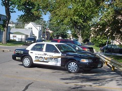 Village of Elmwood Park police car. Elmwood Park Illinois. August 2007.