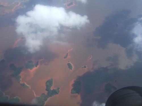 Река, несущаяся с неба