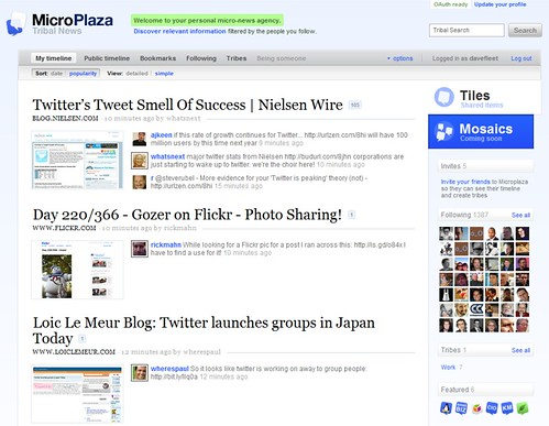 MicroPlaza – Your Personal Micro-News Service