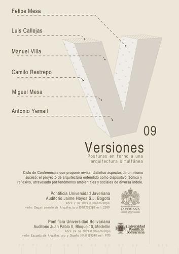 Versiones 09