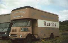 Austins removals and storage Leyland fg (davidsmail101) Tags: road furniture cab transport storage vans 1970s bit luton austins removals leyland fg threepenny