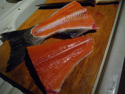 fillets for gravlax