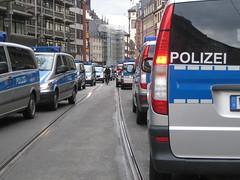 """Demo """"Wir zahlen nicht fr eure Krise"""" in Frankfurt (Martin Ladstaetter) Tags: demo deutschland frankfurt demonstration polizei krise"""
